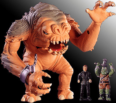 Star Wars Rancor Action Fleet Galoob