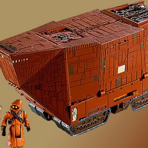 Star Wars Jawa Sandcrowler Action Fleet Galoob