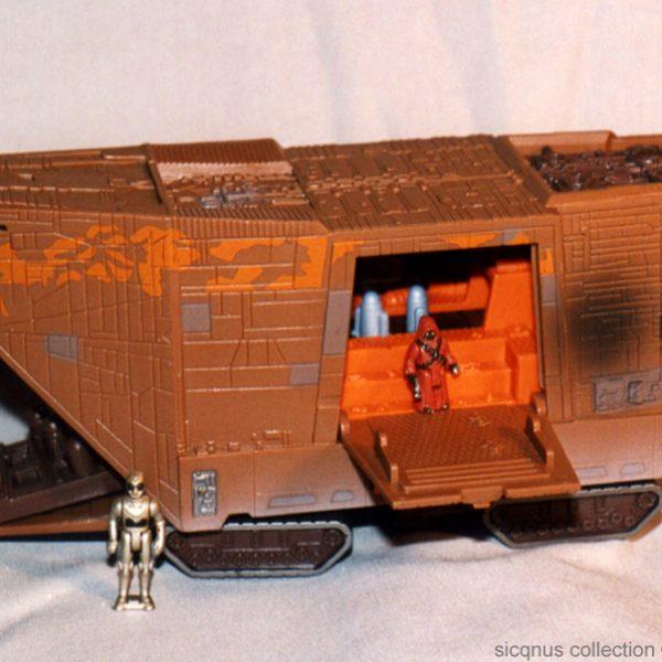 Star Wars Jawa Sandcrowler Action Fleet Galoob
