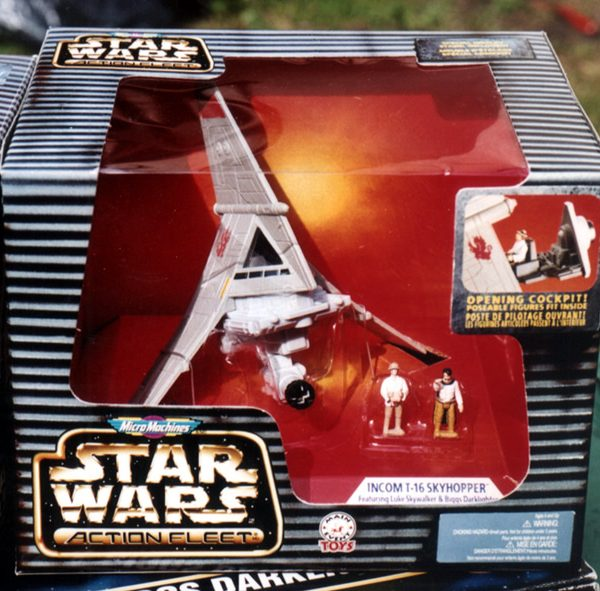 Star Wars T-16 Skyhoper Action Fleet Galoob
