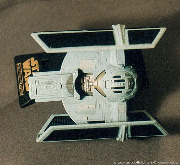 Star Wars Darth Vader's Tie Fighter Action Fleet Galoob