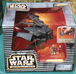 Star Wars Star Viper Virago Action Fleet Galoob