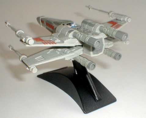 Star Wars X-Wing Fighter Action Fleet Galoob