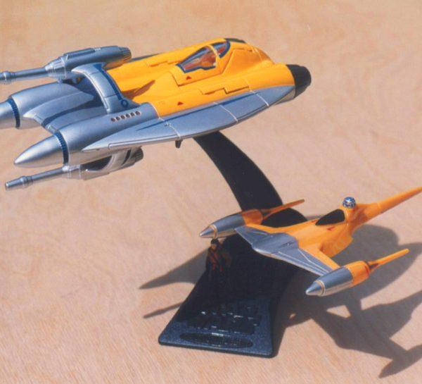 Star Wars Alpha Naboo Fighter Action Fleet