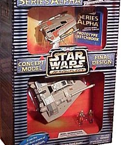 Star Wars Snowspeeder Alpha Action Fleet Galoob
