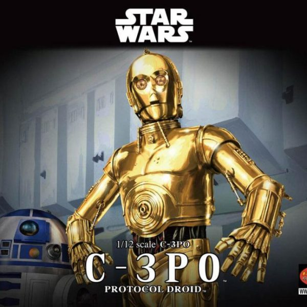 C3-PO 1/12 Model Kit BANDAI