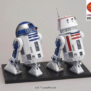 Star Wars R2-D2 e R5-D4 1/12 Model Kit BANDAI