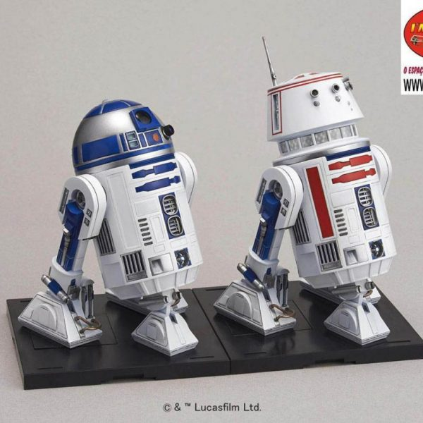 R2-D2 e R5-D4 1/12 Model Kit BANDAI