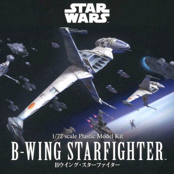Star Wars B-Wing Fighter 1/72 BANDAI