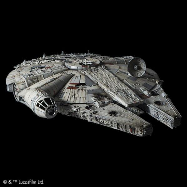 Star Wars Millenium Falcon 1/72 Perfect Grade BANDAI