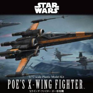 Star Wars Poe Dameron T-70 1/72 Kit BANDAI