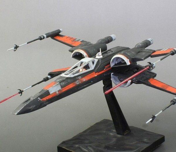 Poe Dameron T-70 1/72 Kit BANDAI