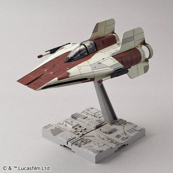A-Wing Fighter 1/72 Model Kit BANDAI