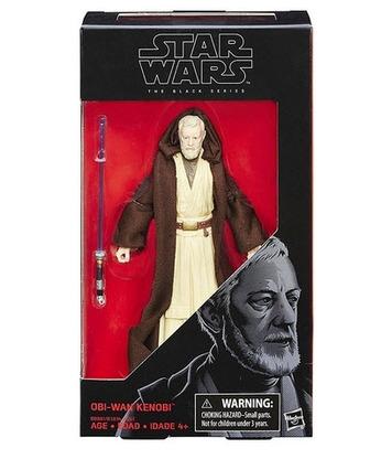 Star Wars Obi-Wan-Ben Kenobi Action Figure Black Series Hasbro