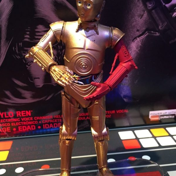 Star Wars The Force Awekens C3-PO Black Series Hasbro
