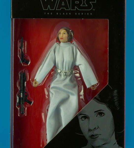 Star Wars Princesa Leia Action Figure Black Series Hasbro