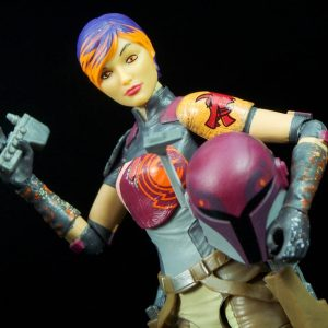Star Wars Rebels Sabine Wren Action Figure Black Series Hasbro