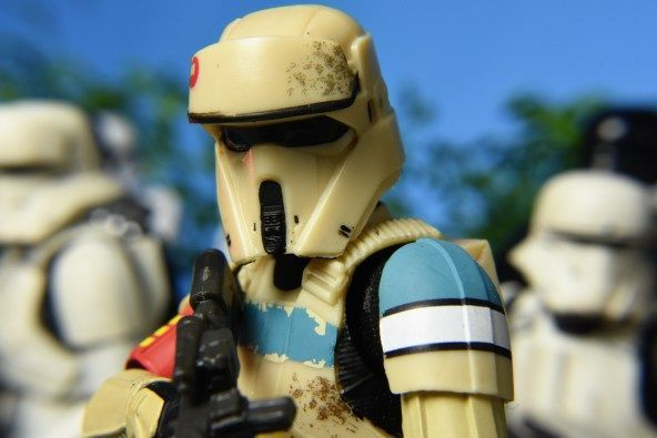 Star Wars Scarif Stormtrooper Black Series Hasbro