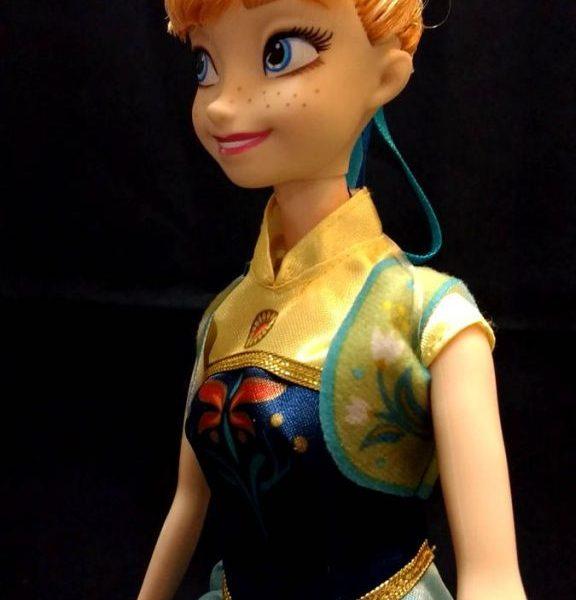 Boneca Disney Store Anna Frozen Original Mattel