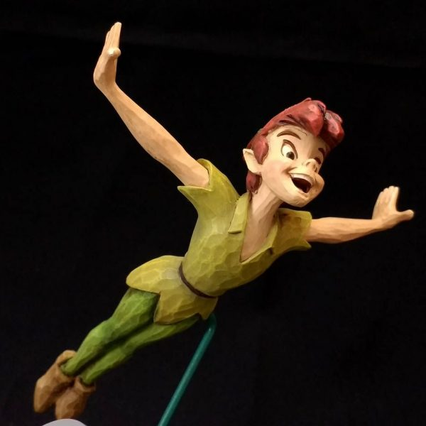 """Disney Store Peter Pan """"SOAR TO THE STARS"""" Statue"""