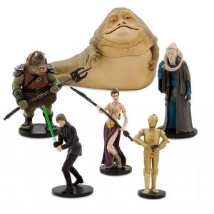 Star Wars Return of Jedi Figure Set Disney Store