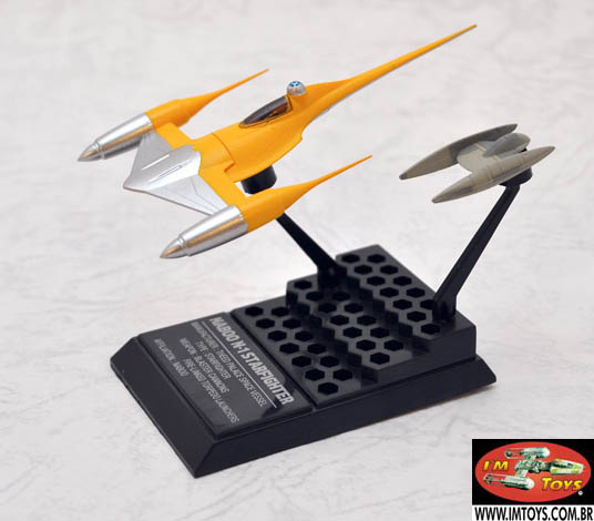 Star Wars Naboo Fighter 1/144 Model F-Toys