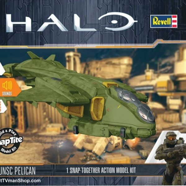 HALO Pelican Eletronic Kit Revell