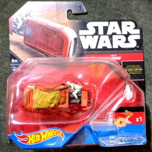 Star Wars Rey's Speeder Die Cast Hot Weels