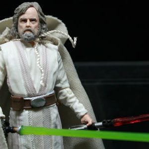Star Wars Last Jedi Luke Skywalker Action Figure Black Series Hasbro