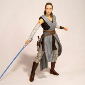 Star Wars Last Jedi Rey Action Figure Black Series Hasbro