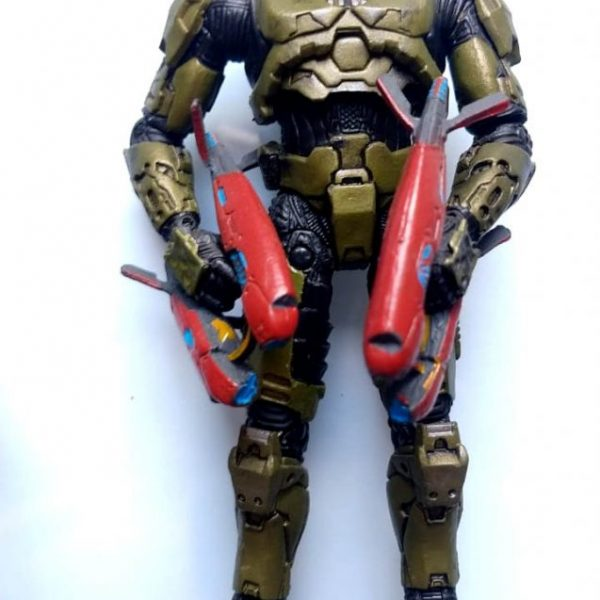 HALO Masterchief Set Mc Farlane Toys