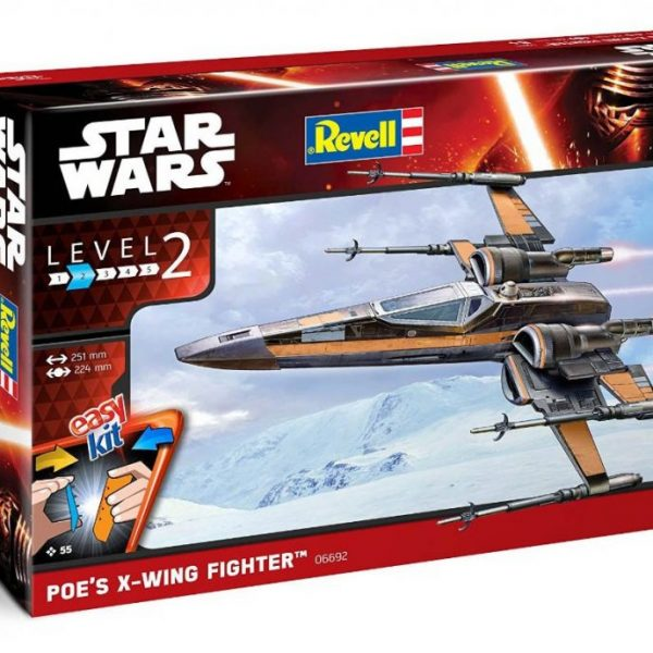 Poe Dameron T-70 X-Wing Revell