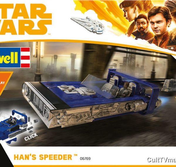 Star Wars Han Solo Imperial Speeder Eletronic Revell