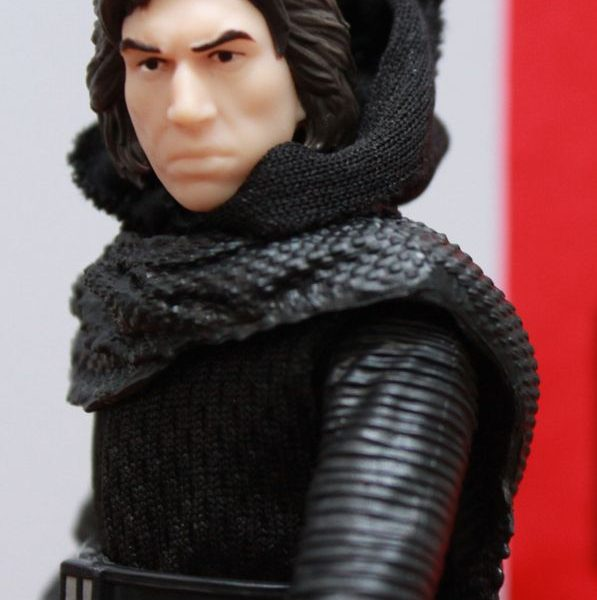 Star Wars Kylo Ren (No Mask) Black Series Hasbro