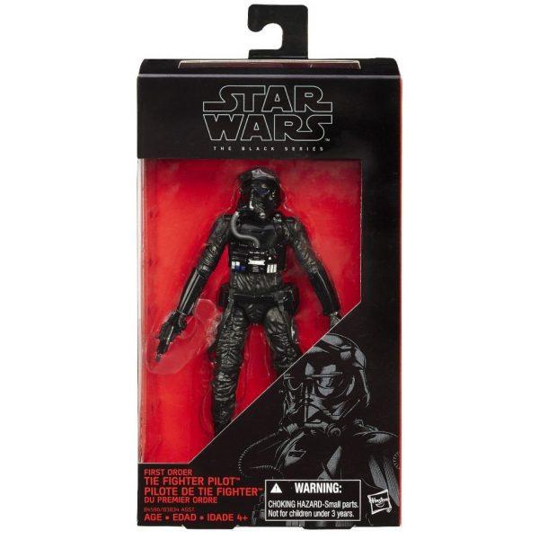 Star Wars First Order Tie Fighter Pilot Black Series Hasbro