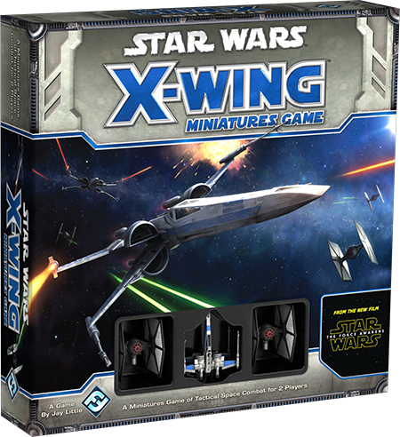 Star Wars The Force Awekens X-Wing Jogo de Miniaturas NEW Core Pack