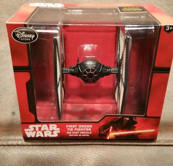 Star Wars First Order Tie Fighter Special Forces Die Cast Disney