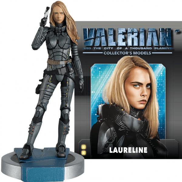 Valerian Laureline Statue Eaglemoss