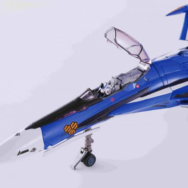 Macross Frontier VF-25G Messiah com Tornado Parts e Super Parts 1/60 DX Chogokin RENEWAL Bandai