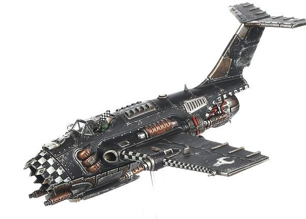 Warhammer 40K Ork Boomer Jet Bomber Game Workshop