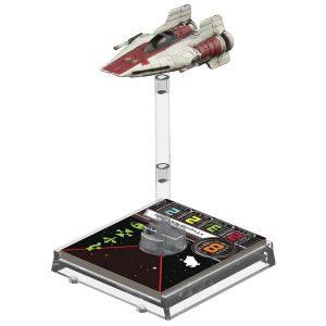 Star Wars A-Wing Fighter de X-Wing Jogo de Miniaturas