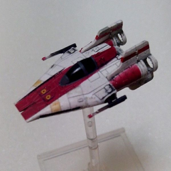 Star Wars A-Wing Fighter de X-Wing Jogo de Miniaturas