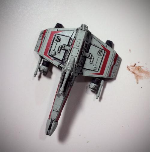Star Wars E-Wing Fighter de X-Wing Jogo de Miniaturas