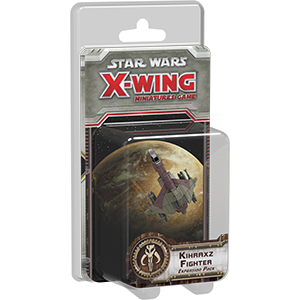 Star Wars Kihraxz Fighter de X-Wing Jogo de Miniaturas