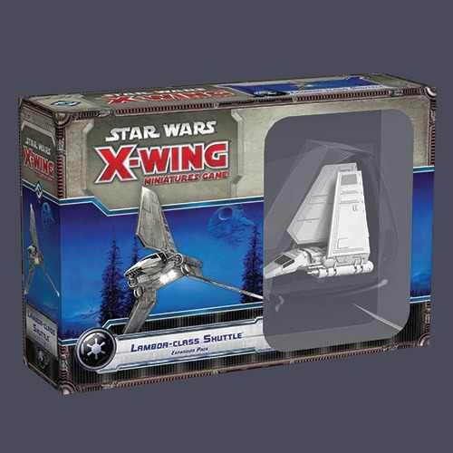 Star Wars Imperial Lambda Shuttle de X-Wing Jogo de Miniaturas