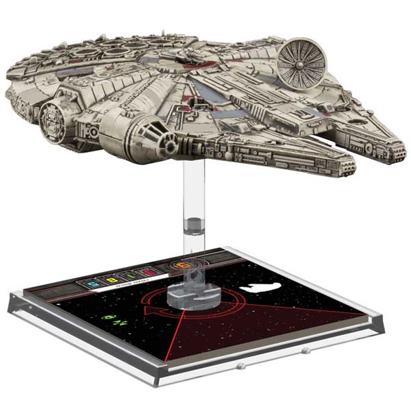 Star Wars YT-1300 Millenium Falcon de X-Wing Jogo de Miniaturas