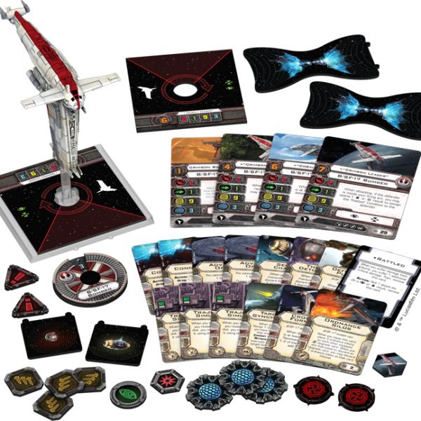 Resistance Bomber de X-Wing Jogo de Miniaturas