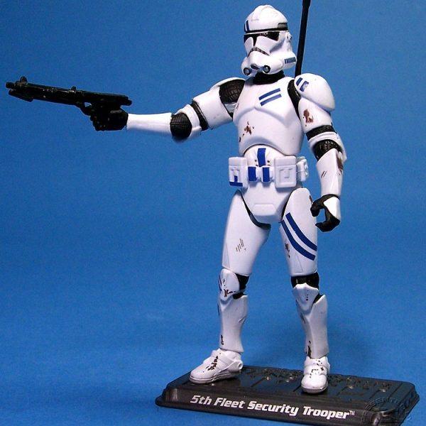 Star Wars Action Figure Clone Trooper 5th Fleet  Hasbro