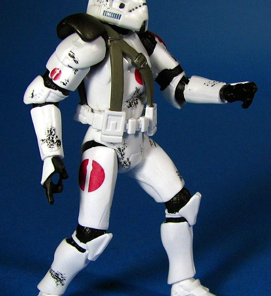 Star Wars Action Figure Clone Trooper Saleucami  Hasbro