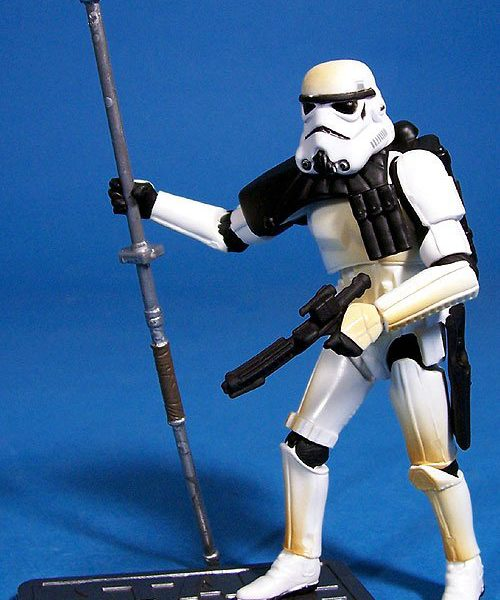 Star Wars Action Figures  Sandtrooper  Hasbro